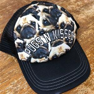 Accessories - Pugs n Kisses Snapback Hat - *So Cute!
